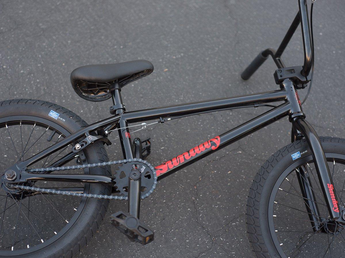 sunday bikes primer 18 2017 bmx bike 18 inch black. Black Bedroom Furniture Sets. Home Design Ideas