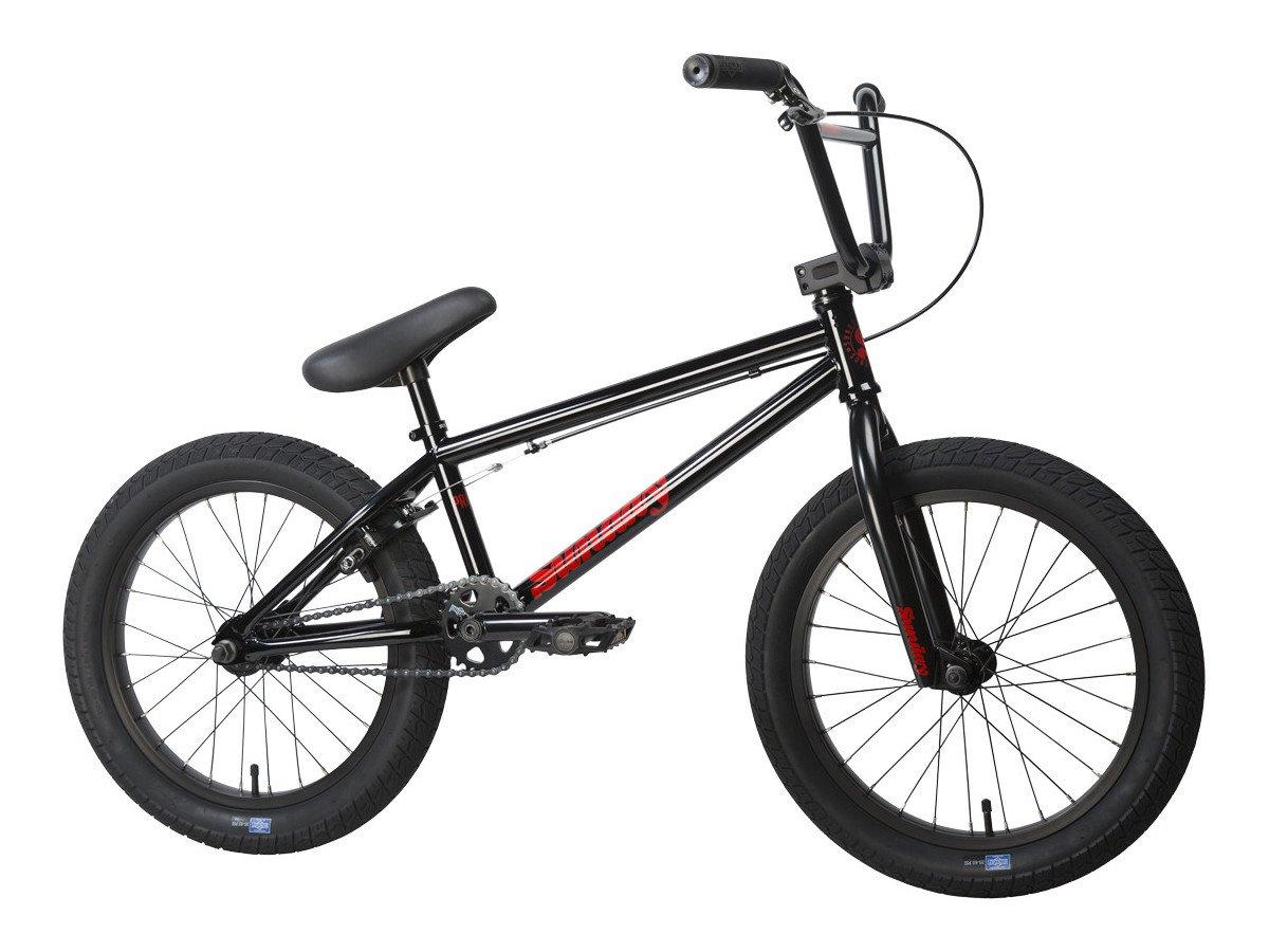 sunday bikes primer 18 2017 bmx rad 18 zoll black