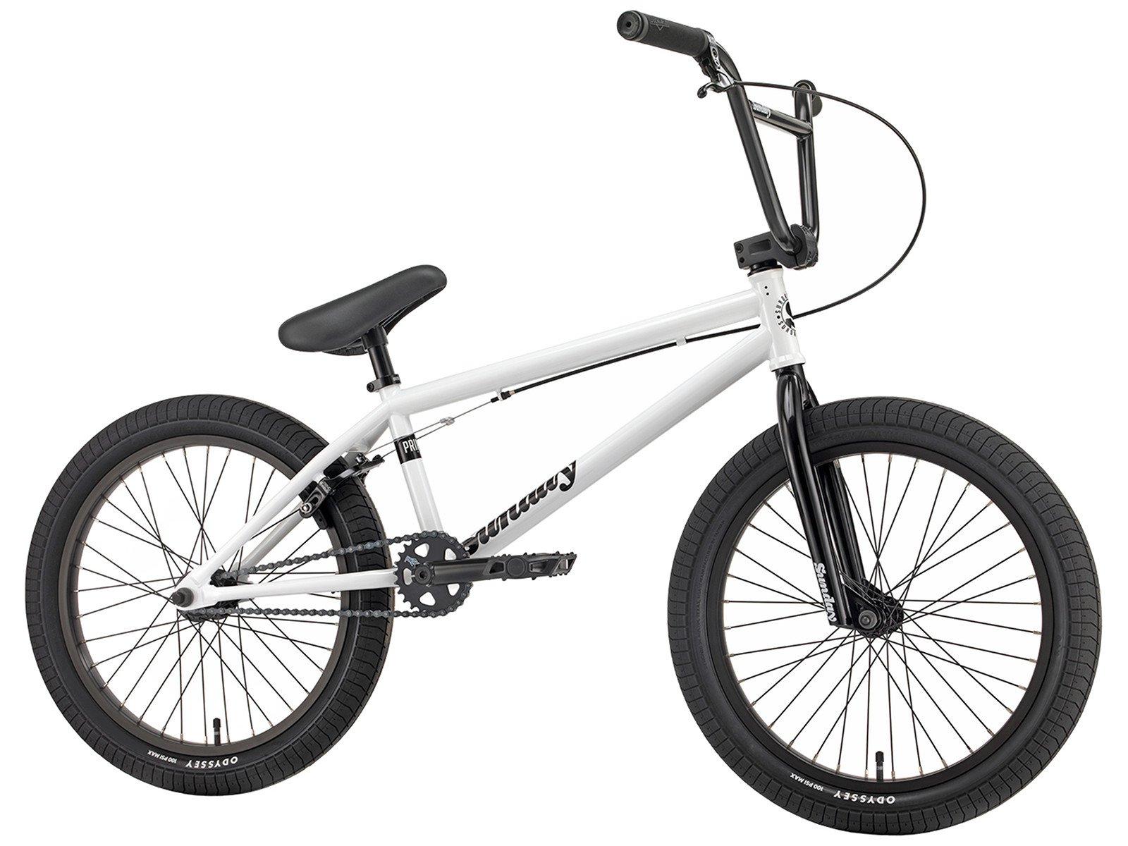"""Sunday Bikes """"Primer"""" 2018 BMX Bike - White"""