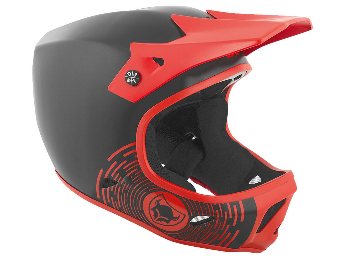 Tsg advance graphic design fullface helmet circle for Helm design