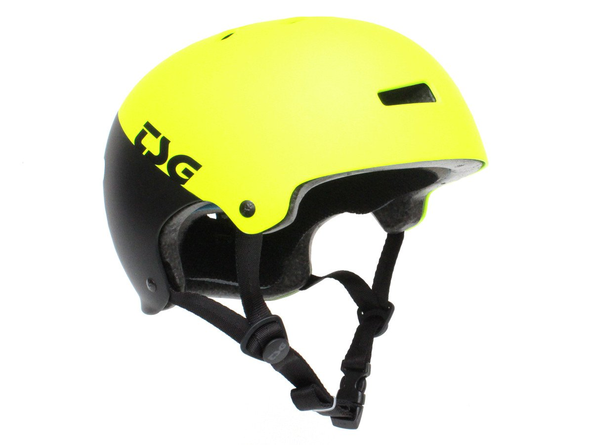 Tsg evolution graphic design helm divided acid yellow for Helm design