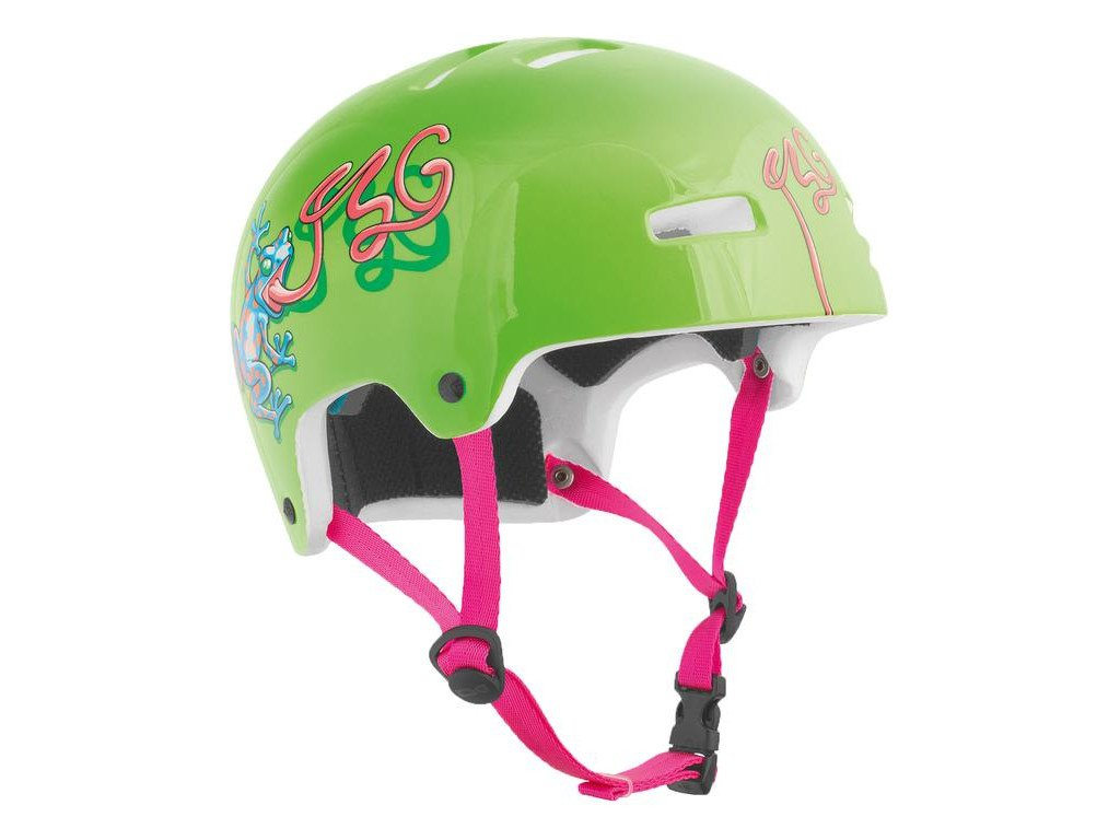 Tsg nipper maxi graphic design helmet frog kunstform for Helm design