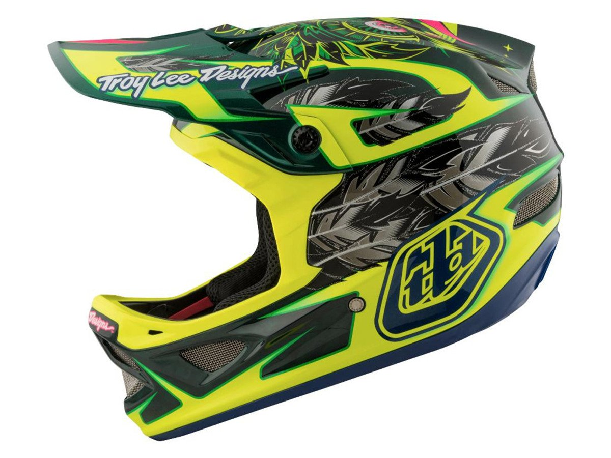 Troy lee designs d3 carbon fullface helmet nightfall for Helm design