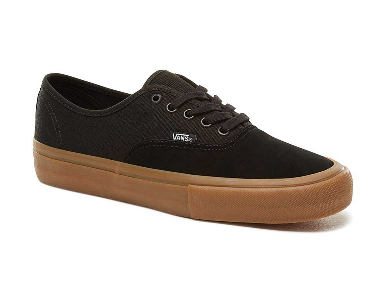 Vans Authentic Pro Shoes Black Clic Gum