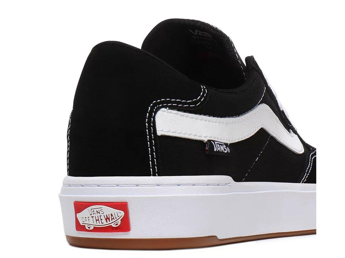 Vans Berle Pro Skate Shoes Black True White