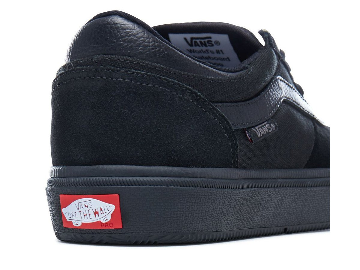 Shop Vans Men's Gilbert Crockett Pro 2 Black Suede Skate