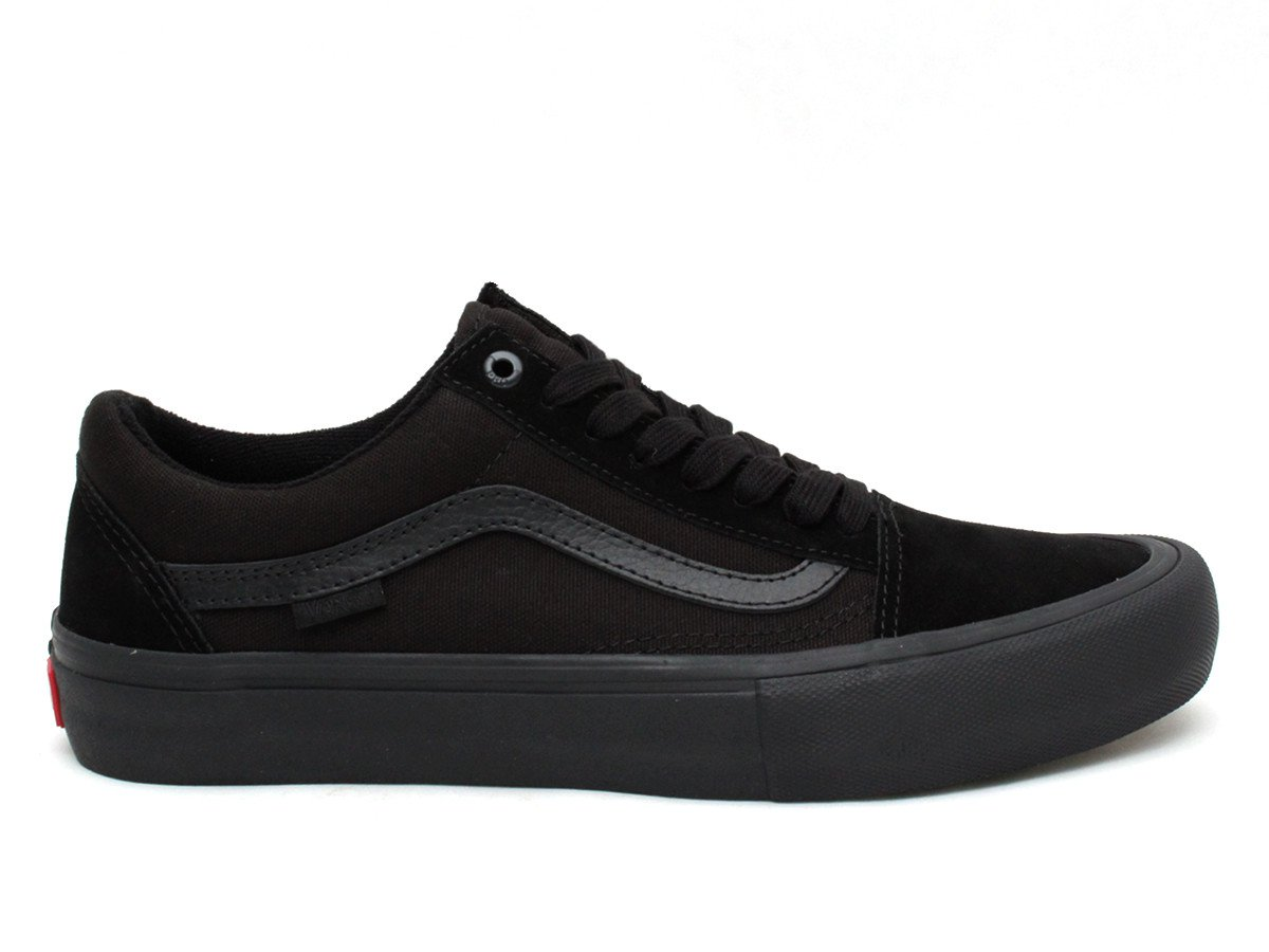 vans old skool pro shoes blackout kunstform bmx shop mailorder worldwide shipping. Black Bedroom Furniture Sets. Home Design Ideas