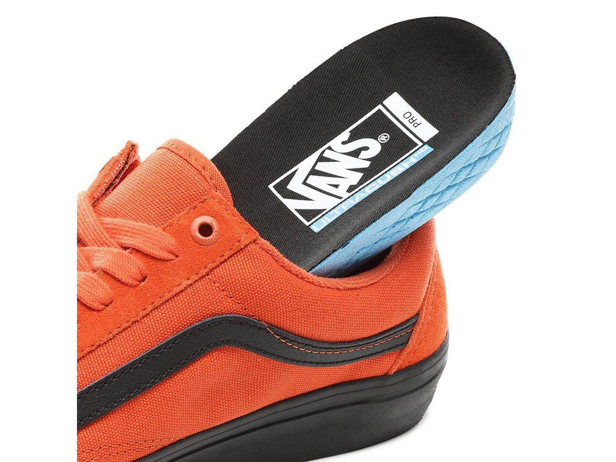 VANS Orange Athletic Shoes VANS Old Skool for Men for Sale