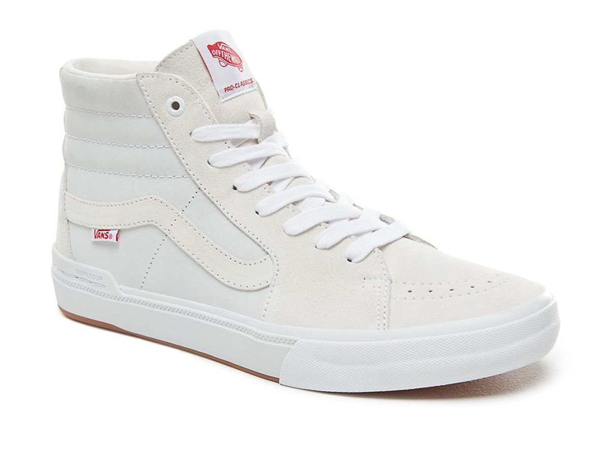 vans sk8 hi pro bmx schuhe scotty cranmer white. Black Bedroom Furniture Sets. Home Design Ideas