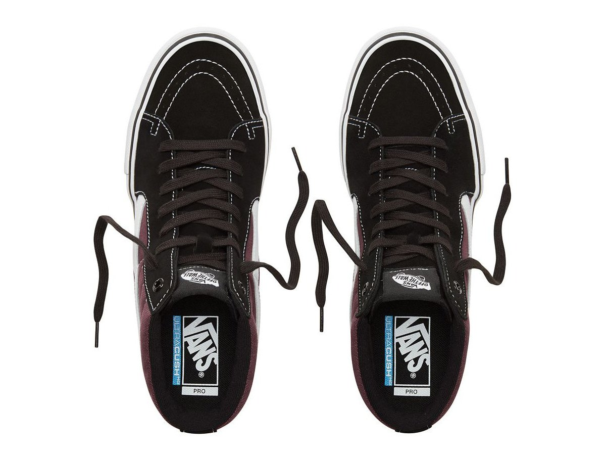 vans sk8 hi pro schuhe black raisin kunstform bmx. Black Bedroom Furniture Sets. Home Design Ideas