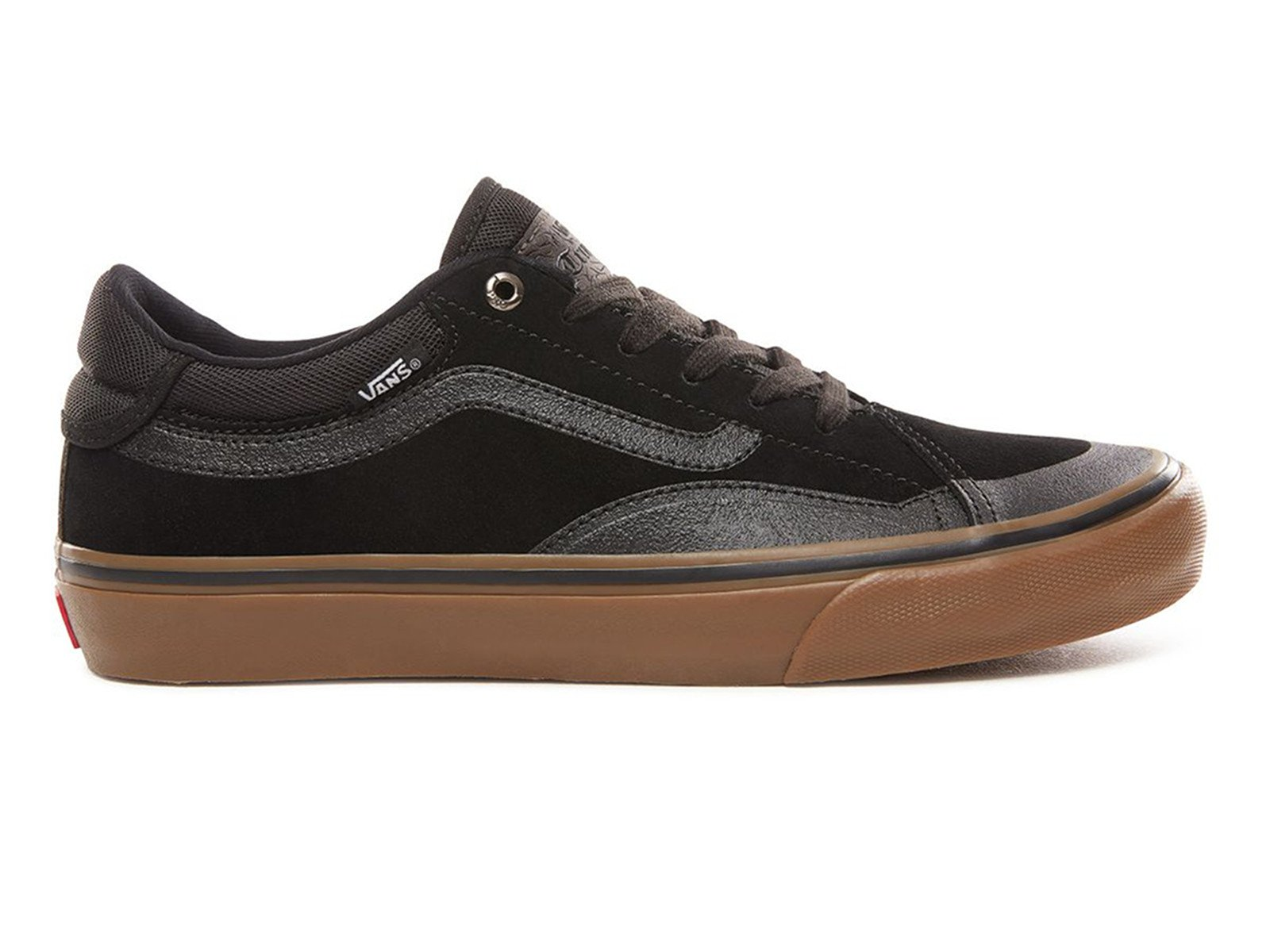 vans tnt advanced prototype schuhe black gum. Black Bedroom Furniture Sets. Home Design Ideas