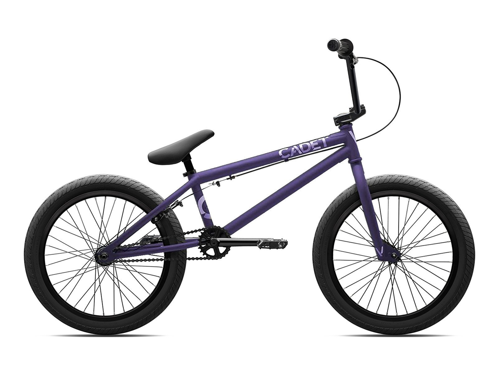 Verde bmx cadet 2017 bmx rad matt purple kunstform for Bmx store