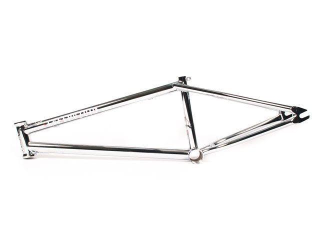 "Bone Deth ""Creepozoid V2 Chrome"" BMX Frame"
