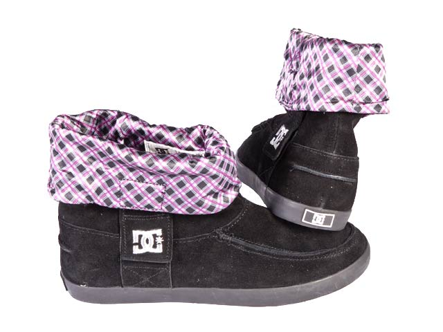 DC Shoes Women's Net Se Skateboarding Shoe Black/Hot Pink 302372 8