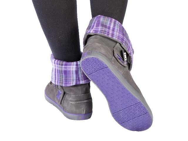 DC Shoes CHELSEA TX WOMENS CHELSEA TX Trainers Womens Gray Grau (GREY/GREEN) Size: 7 (41 EU