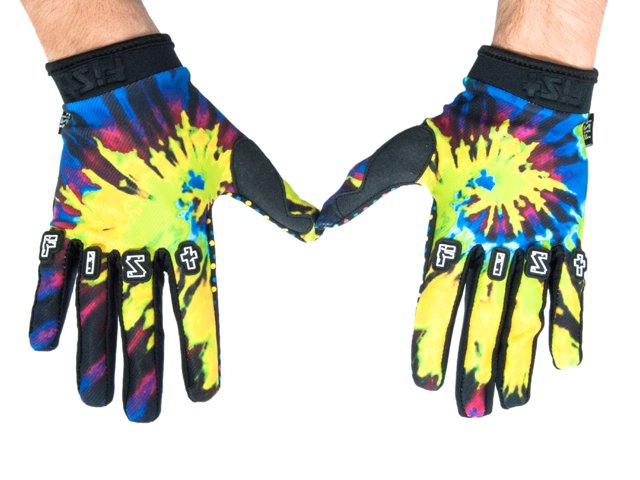 Fist tie dye gloves