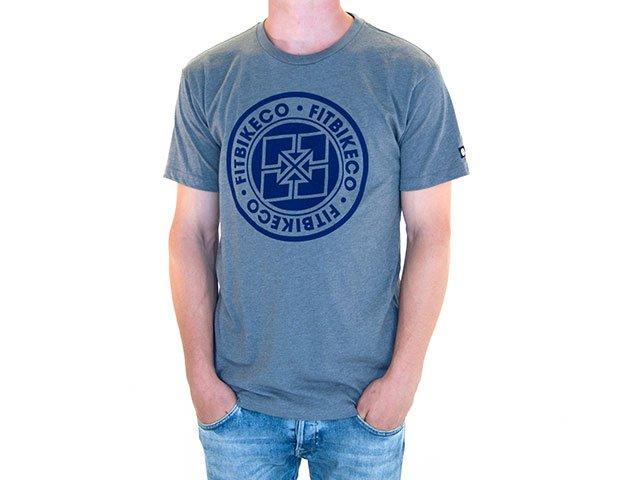 Fit bike co emblem t shirt kunstform bmx shop for Bike and cycle shoppe shirt