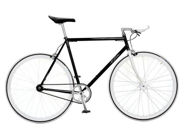 Foffa Prima 2011 Fixed Gear Bike Black White Build A Bike