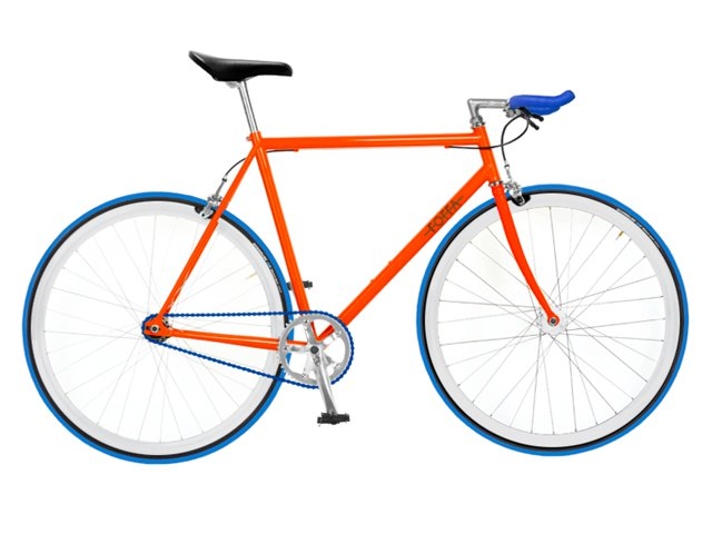 "Foffa ""Prima"" 2011 Fixed Gear Rad orange/blau"