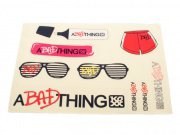 "A Bad Thing ""Bad Sticker"" Stickerset"
