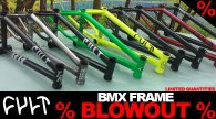 Cult BMX Frame Blowout Sale