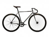 "Creme Cycles ""Vinyl Solo"" 2015 Fixed Gear Bike - Silver"