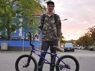 Artur Meister - kunstform BMX Shop Team