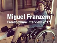 "Miguel Franzem - freedombmx Interview 2017 ""the damned knee"""