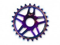 "Mankind Bike Co. ""Nexus"" Sprocket - Oil Slick"