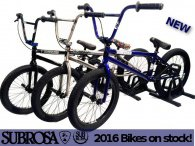 Subrosa 2016 BMX / Federal / End of Season Sale