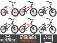 wethepeople 2016 BMX Bikes - now available