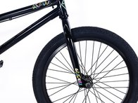 "Academy BMX ""Aspire"" 2018 BMX Bike - Gloss Black/Rainbow"