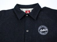 "Autum Bikes ""BMX Freestyle Club"" Jacket - Black Denim"