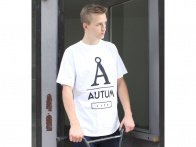 "Autum Bikes ""Life"" T-Shirt - White"