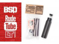 "BSD ""Rude Tube LT XL"" Peg - Aluminum/Nylon"
