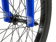 "Fiend BMX ""Type O-"" 2019 BMX Rad - Gloss Blue / Dark Blue Splatter"