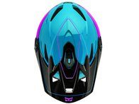 "Kali Protectives ""Zoka Youth"" Fullface Helm - Blue/Purple/Black"