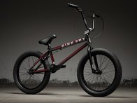 "Kink Bikes ""Gap"" 2019 BMX Rad - Gloss Trans Black Cherry Friction Fade"
