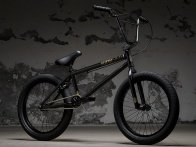 "Kink Bikes ""Gap FC"" 2018 BMX Bike - Gloss Guinness Black 