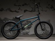 "Kink Bikes ""Gap XL"" 2018 BMX Rad - Gloss Stang Teal Edge Fade"