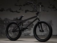 "Kink Bikes ""Launch"" 2018 BMX Rad - Gloss Trans Particle Black"