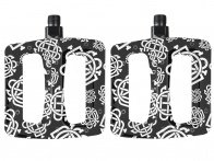 "Odyssey BMX ""Twisted Pro"" Pedals - Monogram Pattern"