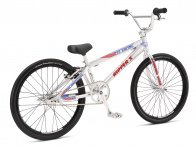 "SE Bikes ""Ripper Expert"" 2018 BMX Race Bike - High Polish Silver"