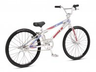 "SE Bikes ""Ripper Junior"" 2018 BMX Race Rad - High Polish Silver"