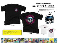"Subrosa Bikes X Radical Rick ""No Wimps"" T-Shirt - White"