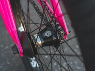 "Sunday Bikes ""Forecaster Aaron Ross"" 2019 BMX Rad - Gloss Hot Pink 