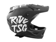 "TSG ""Squad Junior Graphic Design"" Fullface Helm - Ripped Black"