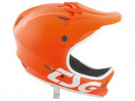 "TSG ""Staten Junior Solid Color"" Fullface Helm - Satin Orange"