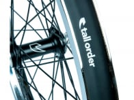 "Tall Order ""Air X Glide"" Front Wheel - Chrome/Black"