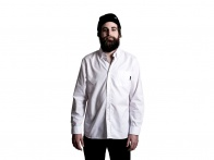 "The Fella BMX ""Oxford"" Shirt - White"
